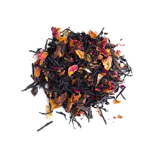 Black Harmony - çilek ve güllü siyah çay 50 gr